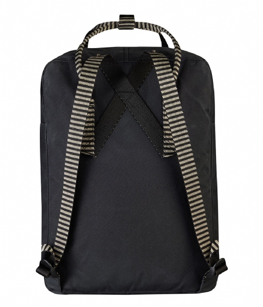 Fjallraven  Kanken black-striped (550-901)