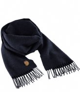 Fjallraven Solid Re-Wool Scarf dark navy (555)