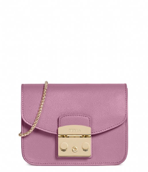 Metropolis Mini Crossbody malva (1021982) Furla | The Little Green Bag