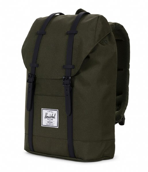 Retreat forest night/black (02262) Herschel Supply Co. | The Little Green Bag