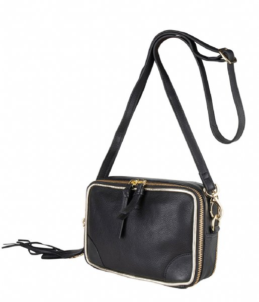 Salerno Crossbody black Legend | The Little Green Bag