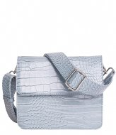 HVISK Cayman Shiny Strap Bag baby blue (001)